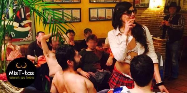 restaurante topless para despedidas de soltero