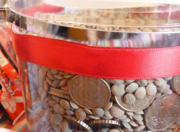 tarro de monedas