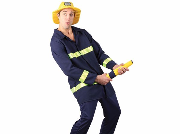 disfraz de bombero para despedidas