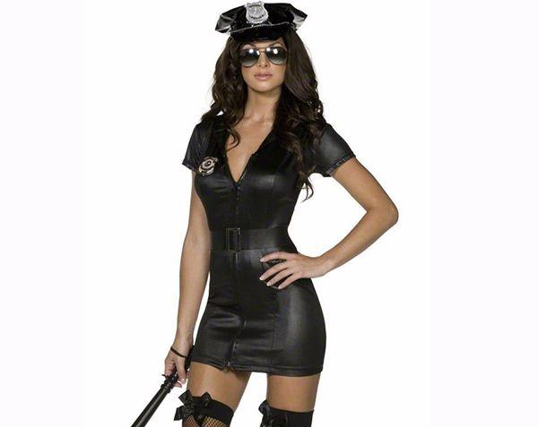 disfraz de mujer policia sexy