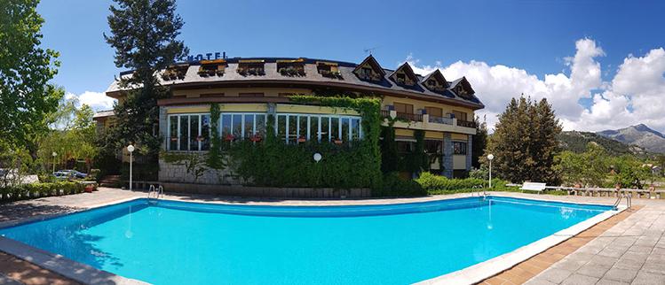 hotel para despedidas en la sierra de madrid
