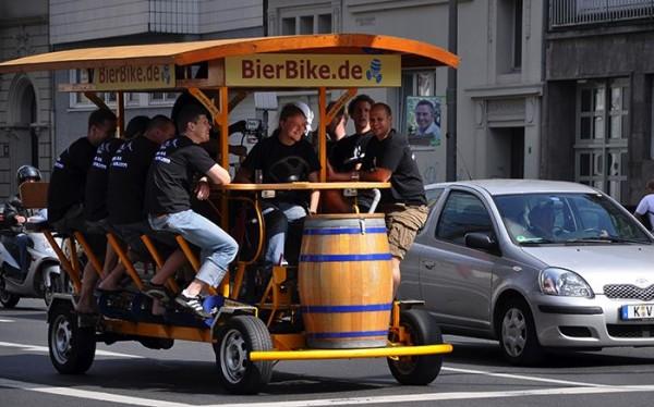 beer bike para despedidas de soltero de fin de semana