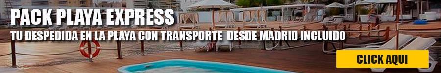 banner playa express