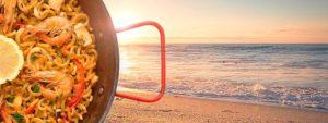 paella en la playa de gandia