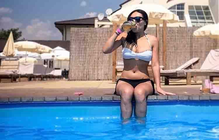 pool party en madrid