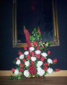 flores en el hotel del terror de madrid