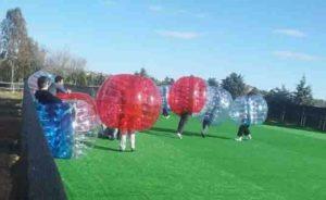 pack fútbol burbuja en madrid