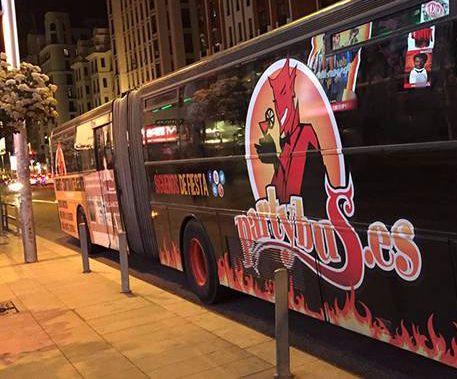 party bus en madrid