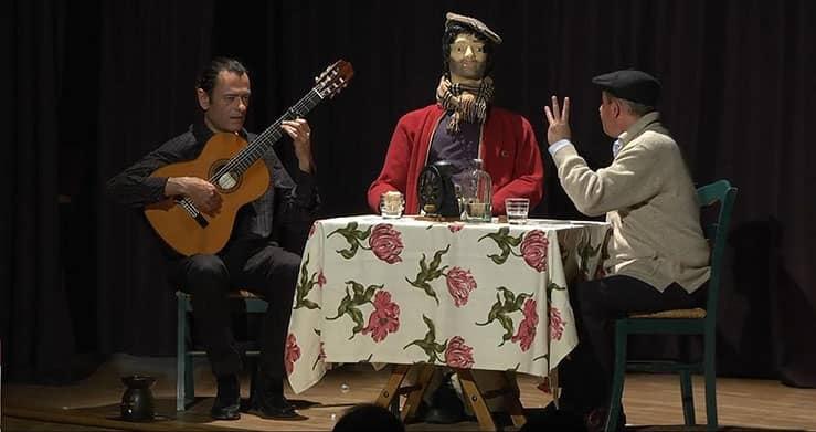 restaurante show y monólogos en madrid