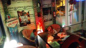 interior del escape bar enigmático