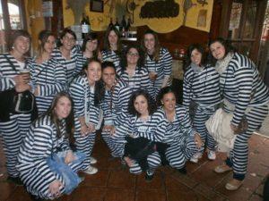 grupo de prisioneras