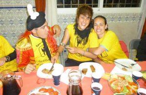 cena de despedida flamenca en madrid