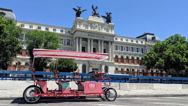 beer bike en madrid