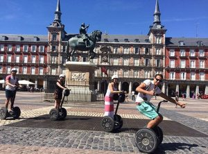 segway en plaza mayor