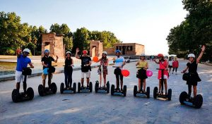 tour segway en madrid