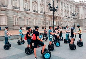 tour segway en plaza mayor