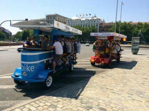 vehículos beer bike