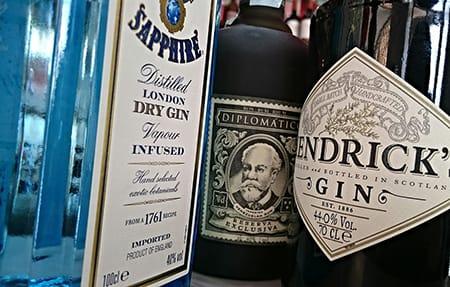 cata de gin tonic variados