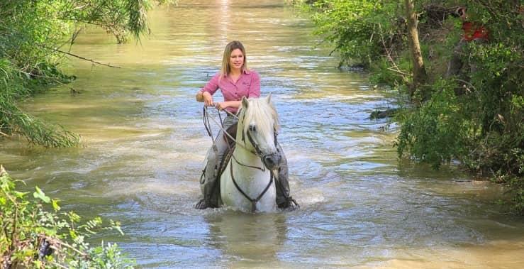 paseo a caballo por la sierra de guadarrama