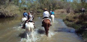 ruta a caballo por aranjuez
