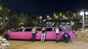 limusina chrysler con chicas en madrid