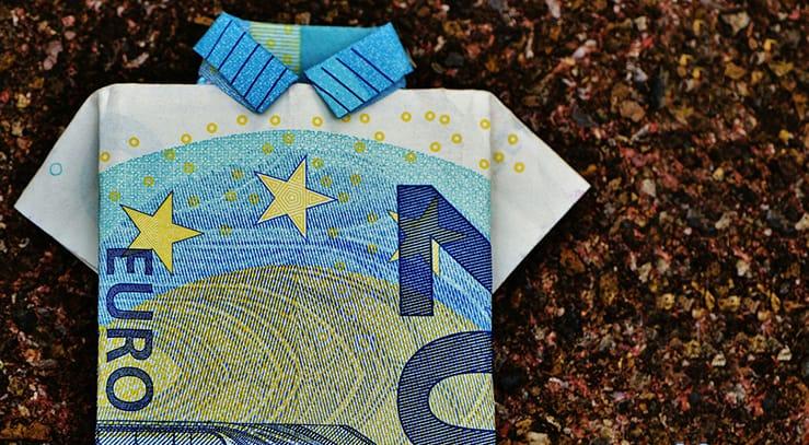 origami con billetes