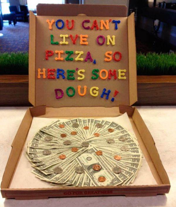 pizza billetes