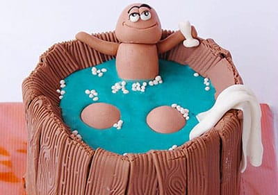 cupcake original para despedidas de soltera