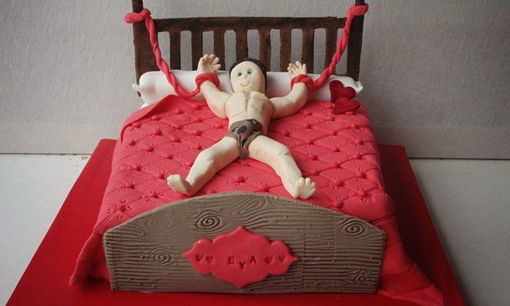 otra de las tartas para despedidas de soltera