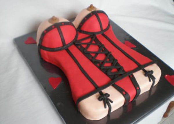tarta striper para despedidas de soltero