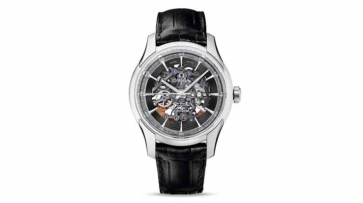 Omega Hour Vision Skeleton Platinum