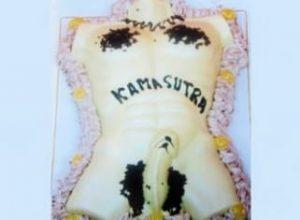 tarta erótica para despedidas de soltera en kamasutra