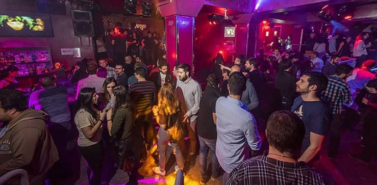 fiesta en discoteca morocco