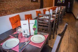 interior restaurante el secreto de ponzano