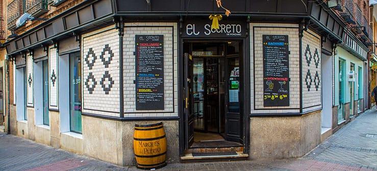 restaurante el secreto de ponzano en madrid