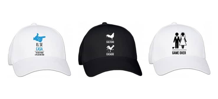 gorras para despedidas de soltero