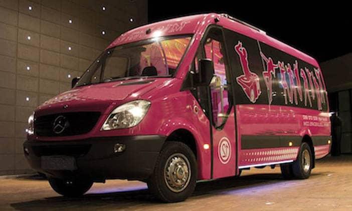 minibus para despedidas en madrid
