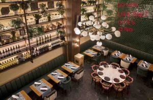 restaurante avec desde arriba