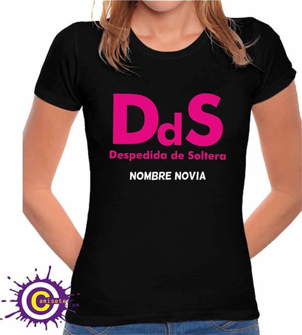 camiseta de despedida de soltera dds