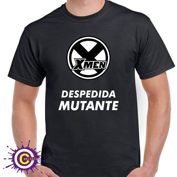 camiseta de despedida mutante