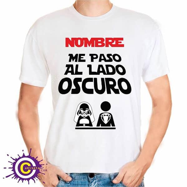 camiseta de me paso al lado oscuro