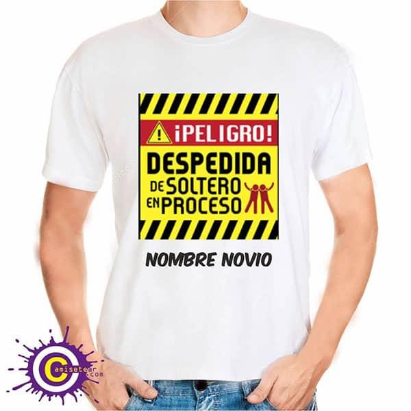 camiseta de peligro despedida
