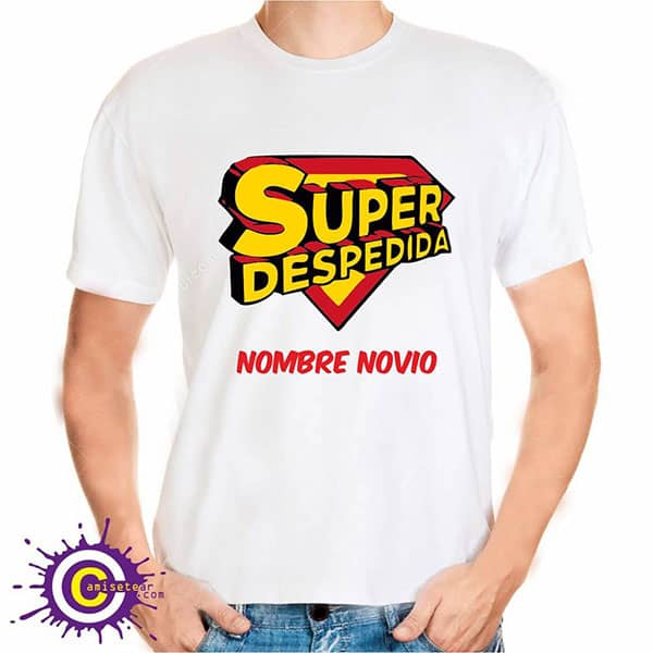 camiseta de la super despedida