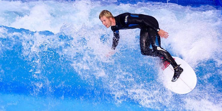haciendo surf en madrid