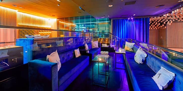 reservado vip en restaurante oh my club madrid