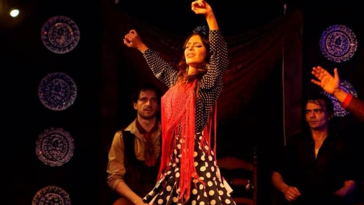 bailaora flamenca en madrid