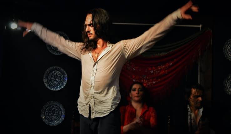 baile en la despedida flamenca