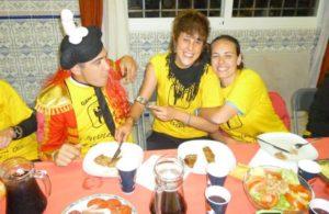 cena de despedida típica española
