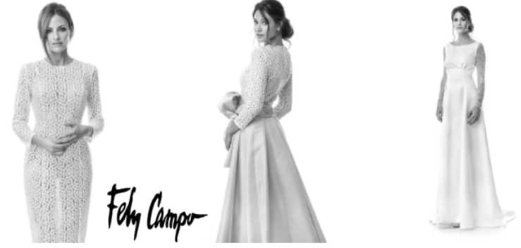 vestido de novia fely campo